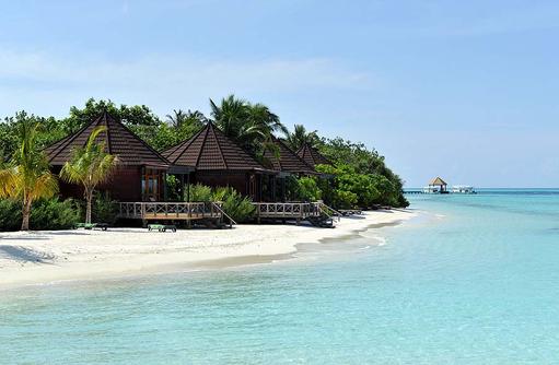 Strandbungalows, Komandoo Island Resort, Maldives