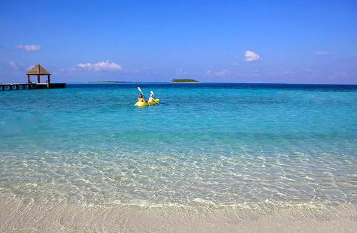 Kayaking, Komandoo Island Resort, Maldives
