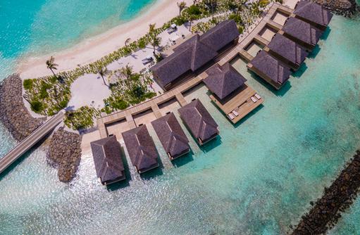 Wasservillen, Kuda Villingili Resort Maldives