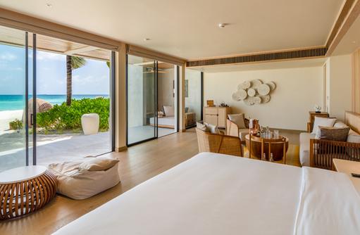 Beach Villa, Kuda Villingili Resort Maldives