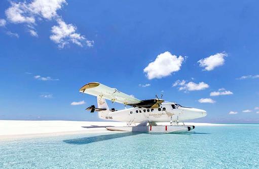 Wasserflugzeug, Kudadoo Maldives Private Island