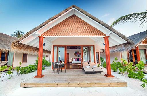 Beach Villa, Aussenansicht, Kudafushi Resort & Spa, Maldives