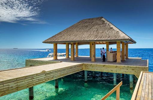 Ankunftssteg, Kudafushi Resort & Spa