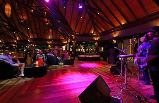 Live Musik, Abendprogramm, Kurumba, Malediven
