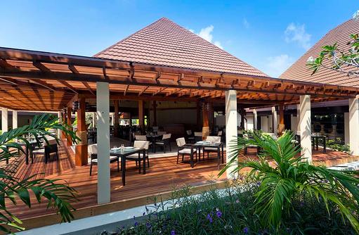 Aussenansicht Kurumba Café, Kurumba, Malediven