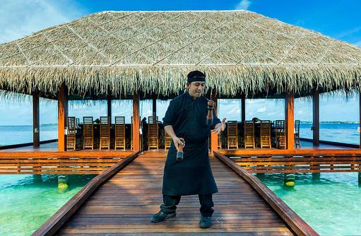 Hamakaze, Teppanyaki Restaurant, Koch, Kurumba, Malediven