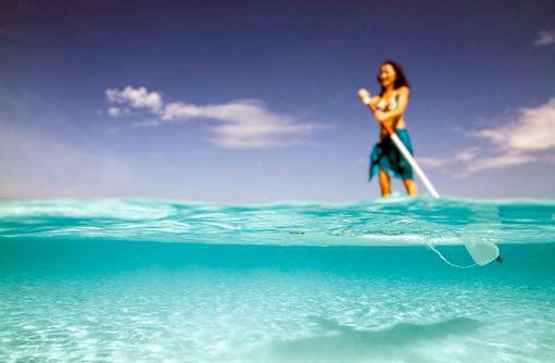 Stand-Up Paddling, Kurumba, Malediven