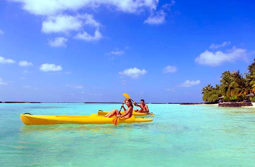 Kayaking, Wassersport, Kurumba, Malediven