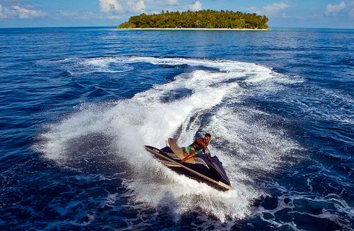 Wassersport, Jet Ski, Kurumba, Malediven