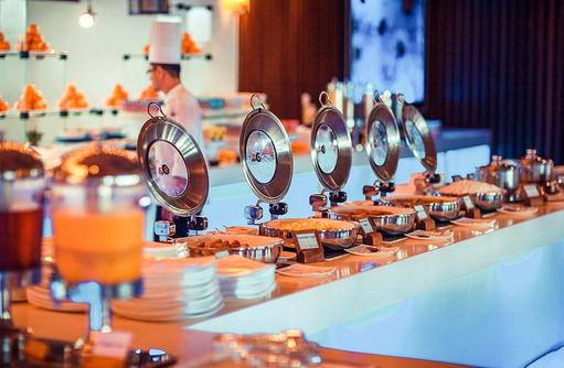 Lily Maa Buffet Restaurant, Buffet, Lily Beach Resort & SPA, Malediven