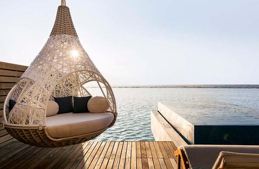 Signature Water Pool Villa, Lux Villa, Sonnendeck, Nest, Infinity Pool I LUX South Ari Atoll