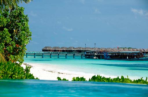 Pool, Wasservillen, Tauchboote I LUX South Ari Atoll
