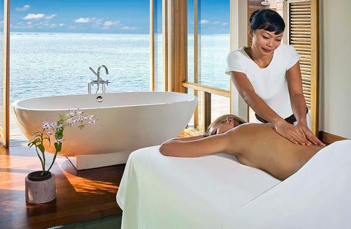 Lux Me Spa, Wellnessmassage, Glasboden I LUX South Ari Atoll