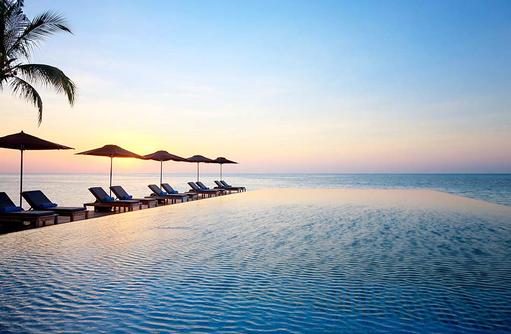 sagenhafter Infinity Pool, grenzenloser Blick I LUX South Ari Atoll