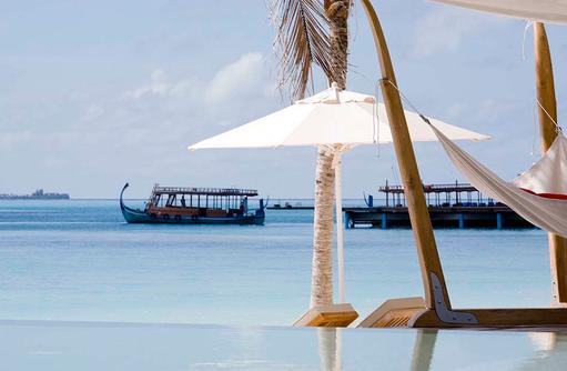 Pool, Hängematte I LUX South Ari Atoll