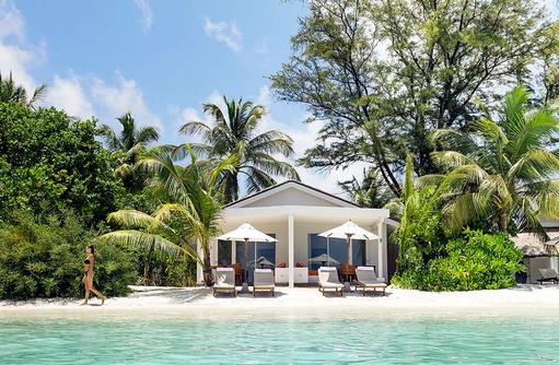 Lagoon Pavillion, Aussenansicht I LUX South Ari Atoll