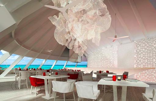 Beach Rouge, Restaurant I LUX South Ari Atoll