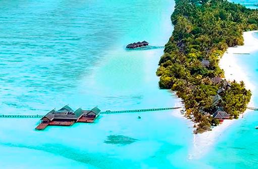 Panorama, Vogelperspektive I LUX South Ari Atoll