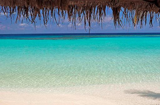 Den Blick in die Ferne schweifen lassen I Makunudu Island Resort