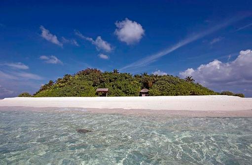 Blick auf die Insel I Makunudu Island Resort