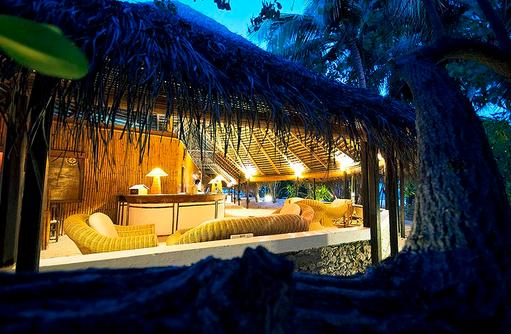 Rezeption I Makunudu Island Resort