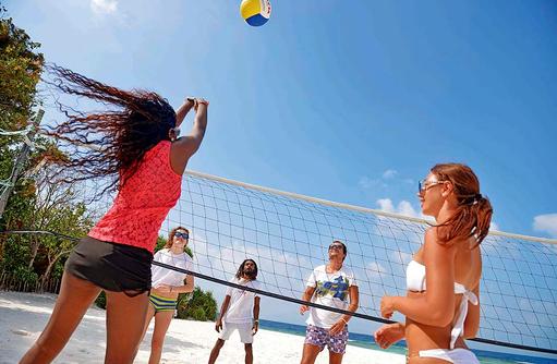 Sport, Beach Volleyball, Malahini Kuda Bandos, Malediven