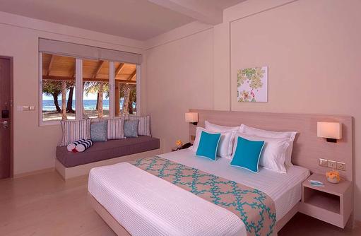 Deluxe Room, Schlafen, Daybed, Malahini Kuda Bandos, Malediven
