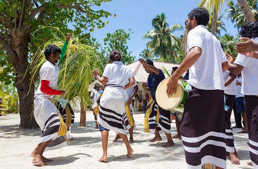 Feier zum Islamischen Opferfest, Malahini Kuda Bandos, Malediven