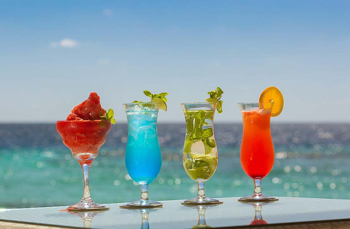 Restaurant Bar 75, Cochtails, Mojito, Magherita, Malahini Kuda Bandos, Malediven
