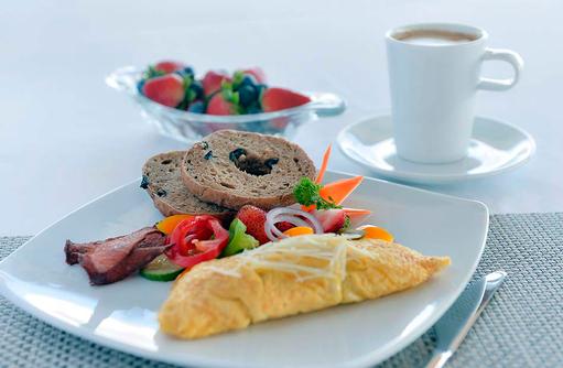 Frühstück, Live Cooking, Malahini Kuda Bandos, Malediven