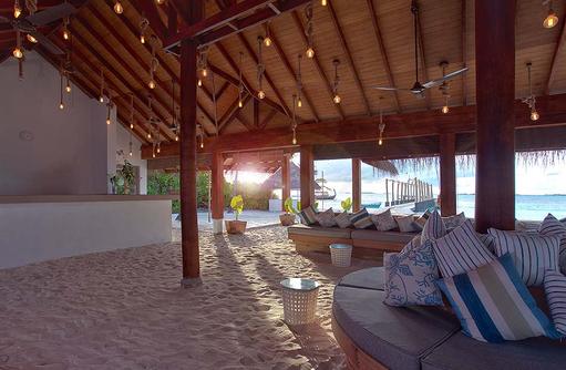 Rezeption, Innenbereich, Loungemöbel, Malahini Kuda Bandos, Malediven
