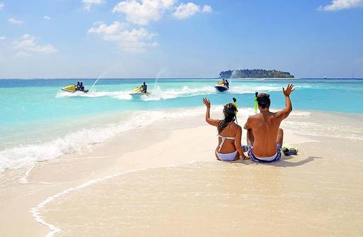 Wassersport, Jetski, Schnorcheln, Malahini Kuda Bandos, Malediven