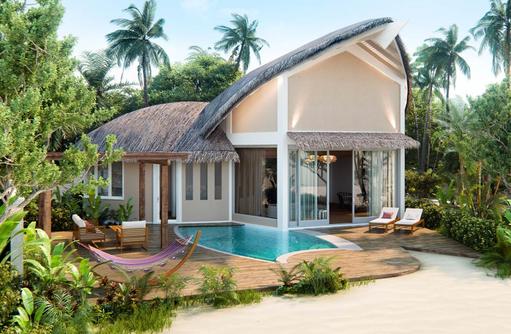 Beach Pool Villa, JW Marriott Maldives
