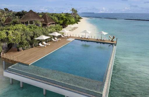 Infinity Pool, JW Marriott Maldives