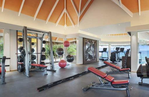 Gym, JW Marriott Maldives