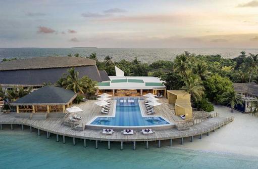 Pool, JW Marriott Maldives