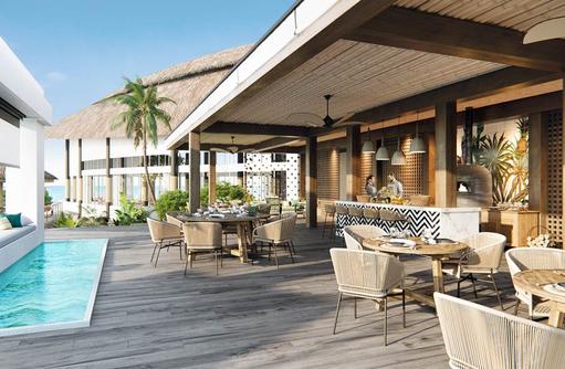 Fiamma Pool Restaurant, JW Marriott Maldives Resort & Spa
