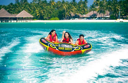 Funtube, Medhufushi Island Resort, Maldives