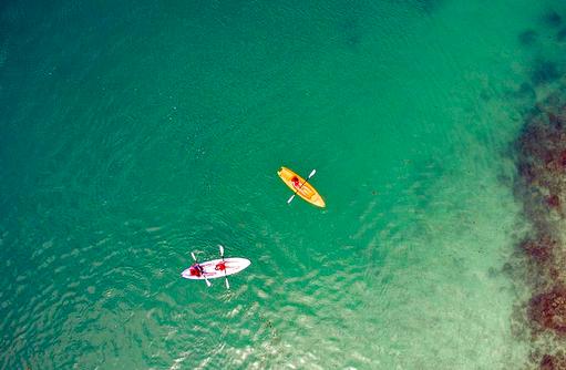 Wassersport, Vogelperspektive, Medhufushi Island Resort, Maldives