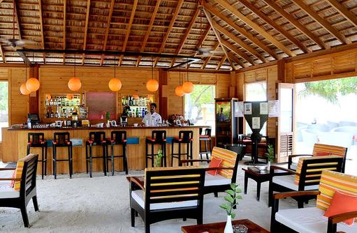 Pavilion Bar, Innenbereich, Meeru Island Resort