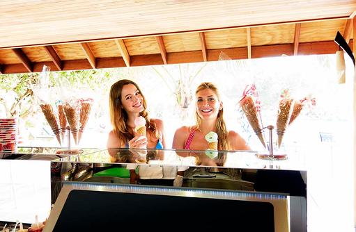 Meeru Café, Eis, Gelati, Ice Cream, Meeru Island Resort