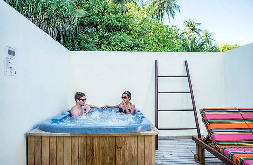Water Front Villa, Jacuzzi, Meeru Island Resort