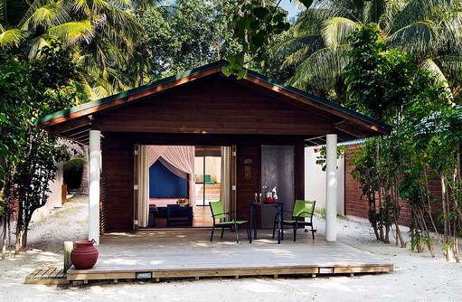 Jacuzzi Beach Villa, Terrasse, Meeru Island Resort