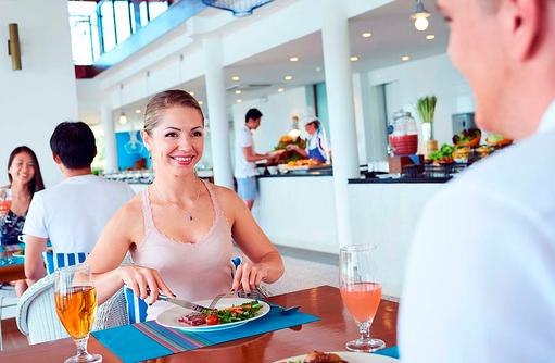 Buffetrestaurant, Mercure Maldives Kooddoo Resort