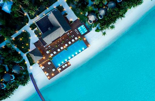 Pool, Mercure Maldives Kooddoo Resort