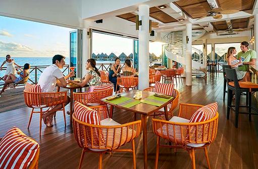 Restaurant, Mittags, Mercure Maldives Kooddoo Resort