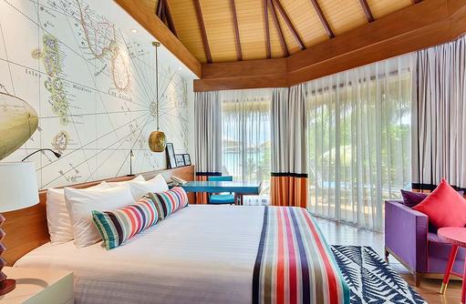 Wohnen, Beach Pool Villa, Mercure Maldives Kooddoo Resort