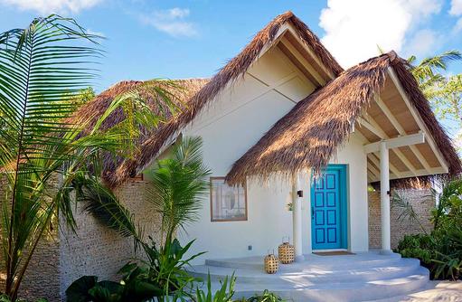 Beach Pool Villa, Eingang, Milaidhoo Island, Maledives