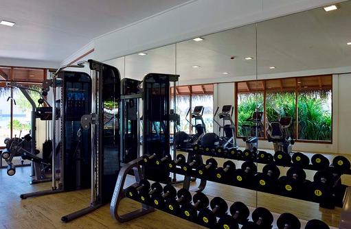 Fitnessclub, Kraftgeräte, Milaidhoo Island, Maledives