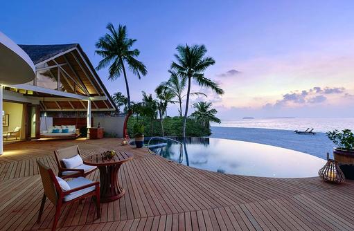 Beach Residence, Inifinty Pool, direkte Strandlage, Milaidhoo Island, Maledives